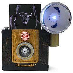 Roman 133467 LED Halloween Kamera Motion Sound, 24,1 cm, schwarz