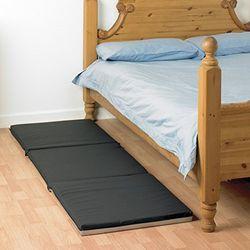 Homecraft Opvouwbare vloermat, 3-voudig opvouwbaar, anti-slip bodem, gemakkelijk te reinigen, incl. draagriem en draaggreep