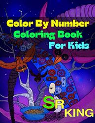 Color By Number Coloring Book For Kids: Color By Number Coloring Book For Kids Age 2-7 (60 Coloring Pages)