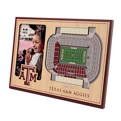 YouTheFan NCAA Texas A&M Aggies 3D StadiumViews Picture Frame