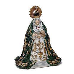 Inmaculada Romero IR Abbildung Virgen De La Esperanza Macarena 16Cm Motiv. Basisharz Dekor