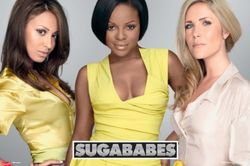 Empire 78971 Sugababes - goud-pop muziekposter druk - 91,5 x 61 cm