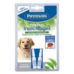 Phytosoin 095036 - Pipetas para Insectos de Perros medianos y Grandes (2 Unidades)