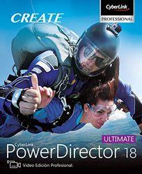 CyberLink PowerDirector 18 Ultimate   PC   Código de activación PC enviado por email