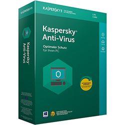 Kaspersky Anti-Virus (Code in a Box). Für Windows Vista/7/8/8.1/10