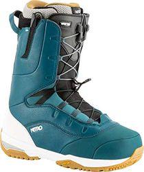Nitro Snowboards Herren Venture TLS PRO '19 Snowboardschuhe, Blue/White, 25.0