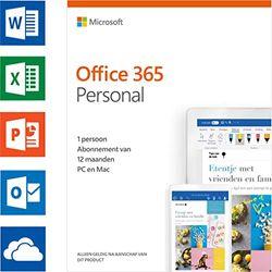 Microsoft 365 Personal | Abonnement van 12 maanden, voor 1 persoon | Nederlands | Download