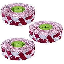 Renfrew Gemustertes Hockey-Klebeband, 2,5 cm breit, 3 Stück, Kanada, 25 m
