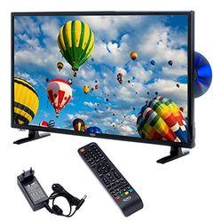 Xoro HTC 2448 60 cm (24 inch) LED TV (HD, Triple Tuner DVB - S2/T2/C), H.265/HEVC - Decoder, PVR Ready, Timeshift, HD mediaspeler en CI+ schacht)