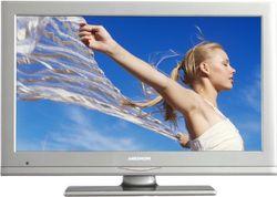 Medion Life P12073 54,6 cm (21,5 inch) LED-backlight televisie (Full-HD, DVB-T/C tuner, DVD-speler) zilver