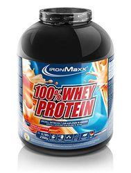 IronMaxx Ironmaxx Sabor Mascarpone De Durazno 100% Polvo Proteína De Suero 2.35 Kg En Lata 2350 g