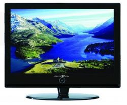 Reflexion LCD-1910SAT 48,2 cm (19 inch) LCD-tv (HD-Ready, DVB-S en analoge tuner incl. 12-volt auto-adapter) wit
