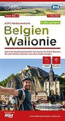 ADFC-Radtourenkarte BEL 2 Belgien Wallonie,1:150.000, reiß- und wetterfest, GPS-Tracks Download - E-Bike geeignet: Auf in die Nachbarlandschaft! Von ... Radfernwegen. (ADFC-Radtourenkarte 1:150000)