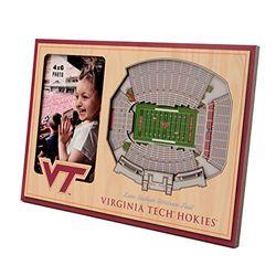 YouTheFan NCAA Virginia Tech Hokies 3D StadiumViews Picture Frame