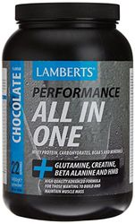 Lamberts All in One Suplemento para Deportistas, Sabor a Chocolate - 1450 gr