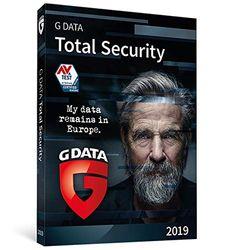 G DATA Total Security 2019   1 Dispositivo   1 Año   PC   Código de activación PC enviado por email