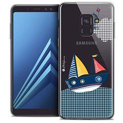Beschermhoes voor Samsung Galaxy A8 Plus 2018, ultradun, motief: MVE Le Boot