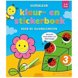 2-4 jaar (Superleuk kleur- en stickerboek voor de allerkleinsten)