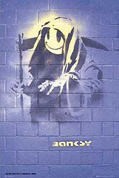 empireposter Graffiti Reaper, Mural Londen - grootte (cm), ca. 61x91,5 - Poster, NIEUW