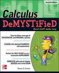 Calculus DeMystiFieD, Second Edition