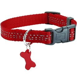 Bobby Safe Collar, X-Large, Red