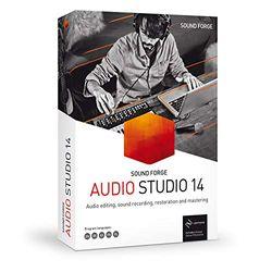 MAGIX SOUND FORGE Audio Studio|14|1 Device|Perpetual License|PC|Disc