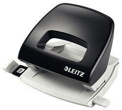 Leitz NeXXt Series kleine perforator, 16 vellen, blisterverpakking - parent ASIN - DE(4) zwart