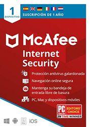 McAfee Internet security 1 dispositivo