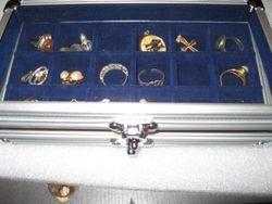 iD-Safe 5872-1 Schaufenster für Mineralien, Schmuck, Perlen etc.