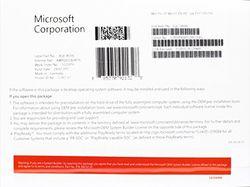 MS Windows 10 Pro 32bit DVD OEM (EN)