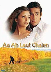 """Poster Bollywood""""Aa Ab Laut Chalen"""" met accessoire item"""