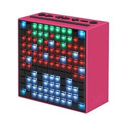 """Divoom 840500101216 Timebox Stereo Bluetooth""""4.0/5.0"""" pixels luidspreker, 5W roze"""
