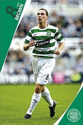 1art1 40100 voetbal - Celtic, Scott Brown 07/08 poster 91 x 61 cm