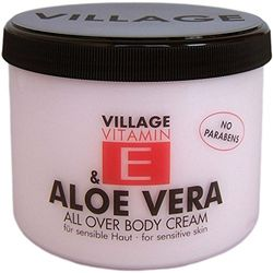 Village Body Cream 500ml met vitamine E Aloë Vera. Body Cream 500ml