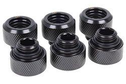 Alphacool 17377 Accesorio de hardware de enfriamiento negro, 13/10mm, 21mm, 141 g, negro