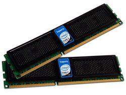 OCZ Intel Extreme XMP DDR3 PC3-12800 werkgeheugen 2GB kit (2x 1GB, 1600MHz, CL7)