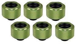 Thermaltake Pacific C-Pro G1/4 PETG - Tubo de 16 mm OD compresión, Color Verde