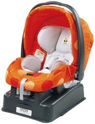 Peg Perego autostoel Primo Viaggio SIP (incl. in hoogte verstelbare basis), Design: Revi Oranje
