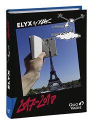 Quo Vadis 54213618 M² agendabook diaria Elyx, año escolar/estudiante 2017 – 2018 Sett/Dic 12 x 17 cm, Eiffel