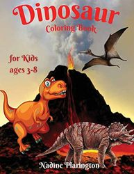 Dinosaur Coloring Book for Kids: Amazing Gift for Boys & Girls , Ages 3-8 | Great Activity Book for children