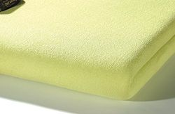 Alvi 934238 sábana bajera ajustable Frottier, color verde