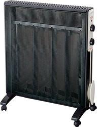 Jata RD232N Micathermic radiator met 4 platen, 2000 W, zwart