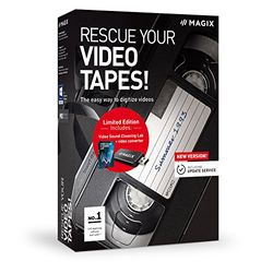 Rescue your Videotapes! - Version 9 - Digitizing Video Cassettes Made Easy (PC) Version 9 1 One time PC Disc