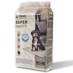 Croci - Pañal Absorbente para Perro, 90 x 60 cm, 10 Unidades