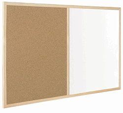 Bi-Office MX03001010 Budget Kombitafel mit Holzrahmen