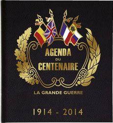 Exacompta - Agenda (semanal, 23,5 x 25,5 cm, año 2014), diseño del centenario de la Primera Guerra Mundial - texto en francés