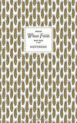 Wheat Fields Notebook - Ruled Pages - 5x8 - Premium: (Original Edition) Fun notebook 96 gelijnde / gelinieerde pagina's (5x8 inch/ 12,7x20,3cm / Junior Legal Pad / Nearly A5)