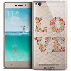 Beschermhoes voor Xiaomi Redmi 3, ultradun, motief: Summer Love Flowers