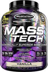 Muscletech Mass-Tech - Weight Gainer / Mass Gainer - Vanille - 3200 gram (14 shakes)