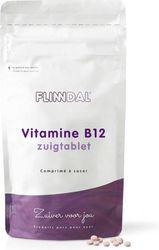 Flinndal Vitamine B12 Zuigtabletten - Voor het Geheugen, Zenuwstelsen en Energie - 90 Tabletten